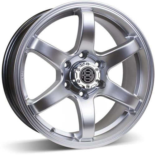 RSSW Torque Alloy Wheel, Hyper Silver Product image