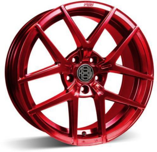 RSSW Lambda Alloy Wheel, Sparkling Red Product image