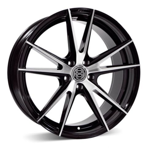 RSSW Forza Alloy Wheel, Gloss Black with Machined Face Product image