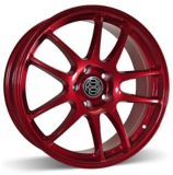 RSSW Velocity Alloy Wheel, Sparkling Red | Macpeknull