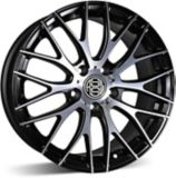 RSSW Touring Alloy Wheel, Gloss Black Machined Face | Macpeknull