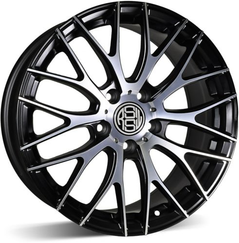RSSW Touring Alloy Wheel, Gloss Black Machined Face