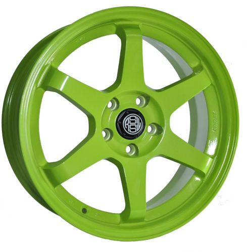 RSSW Rival Alloy Wheel Solid Green Product image