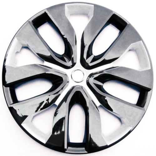 Wheel Cover, 1052, Black/Silver, 17-in, 4-pk Product image