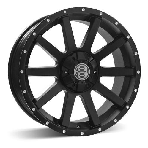 RSSW Rambler Alloy Wheel, Matte Black