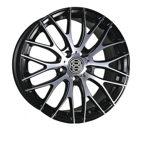 RSSW Touring Alloy Wheel, Black with Machined Face