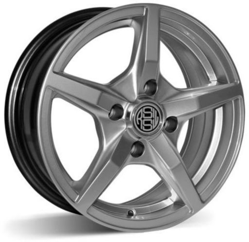 RSSW Jazz Alloy Wheel, Hyper Silver Product image