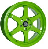 RSSW Rival Alloy Wheel, Solid Green | Macpeknull
