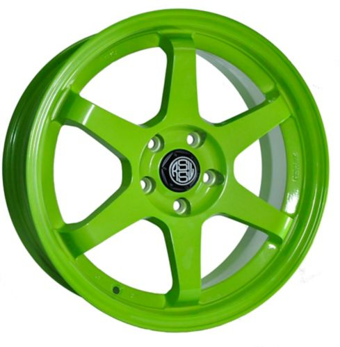 RSSW Rival Alloy Wheel, Solid Green Product image