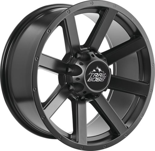 Trail Boss Bandit Alloy Wheel, Satin Black Product image