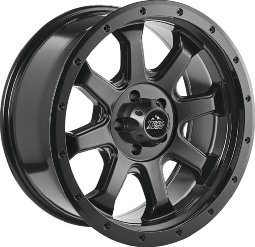 Trail Boss Outlaw Alloy Wheel, Satin Black Product image