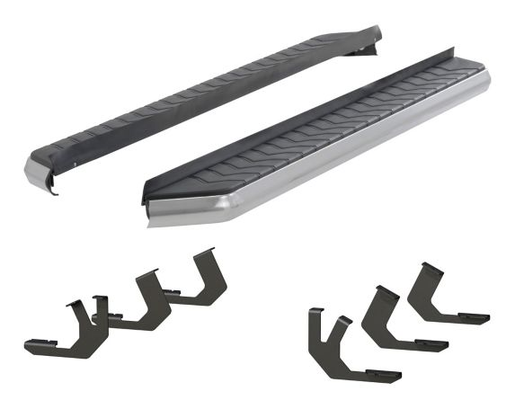 Aries AeroTread Running Board Kit, Chrome, 5-in Product image