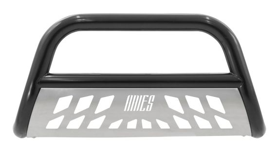Aries Stealth Bull Bar, High Gloss Black with SS Skid Plate, 3-in Product image