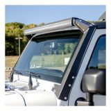 Aries Jeep Over Windshield Light Bar Brackets | ARIESnull