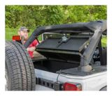 Aries Jeep Security Cargo Lid Kit | ARIESnull