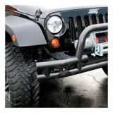 Support de plaque d'immatriculation pour pare-chocs avant Aries Jeep | ARIESnull
