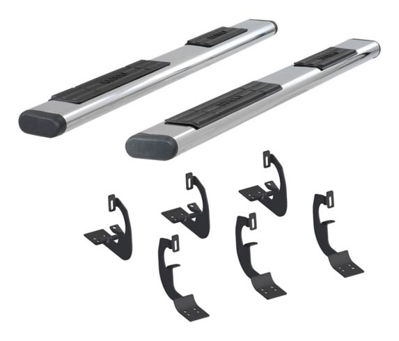 Aries Oval Side Bar Kit, Stainless Steel, 6-in Product image