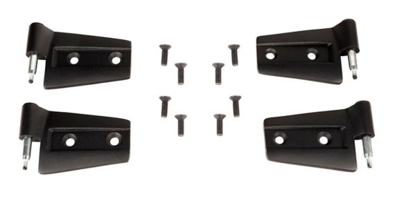 Rugged Ridge Jeep Door Hinge Kit, Black, 4-pc Product image