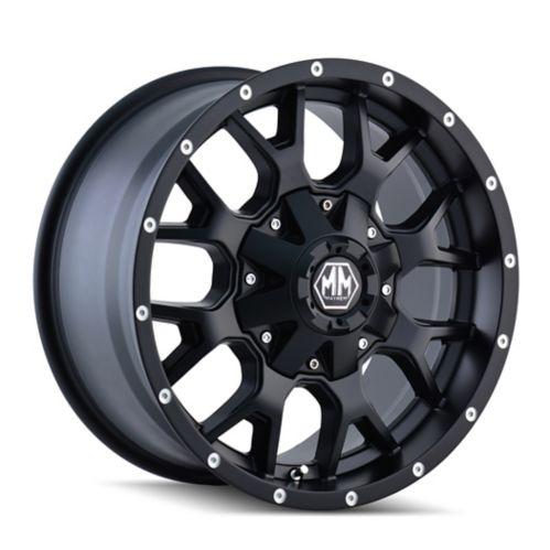 Mayhem Warrior 8015 B Alloy Wheel, Matte Black Product image