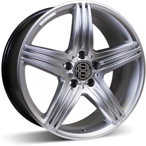 RSSW Exclusive Alloy Wheel, Hyper Silver