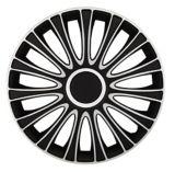 Auto Wheel Cover, Black/Silver | Alpenanull