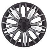 Black/Silver Wheel Cover KT104MBKS | KTnull