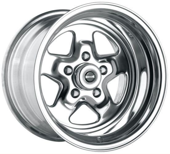 Jante Ridler Custom Wheels Style 655, fini alliage poli