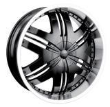 DIP Phoenix D36 wheel in Black with Machined Lip | DIPnull