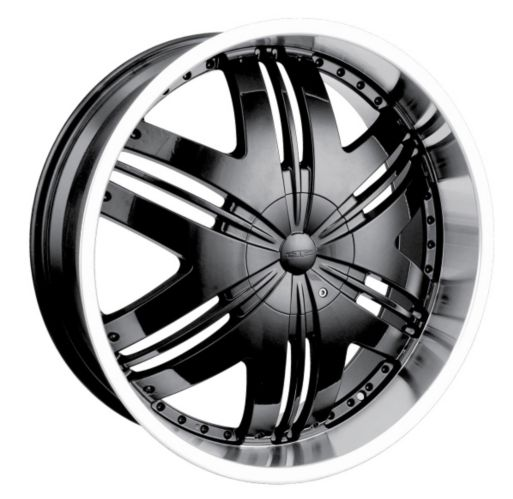 DIP Phoenix D36 wheel in Black with Machined Lip Product image