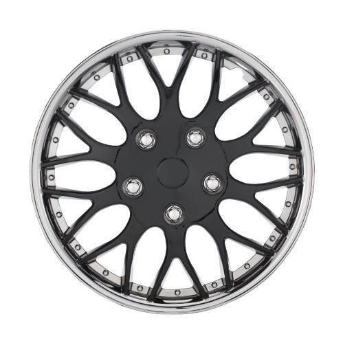 AutoTrends Wheel Cover, 970, Chrome/Black, 16-in, 2-pk Product image