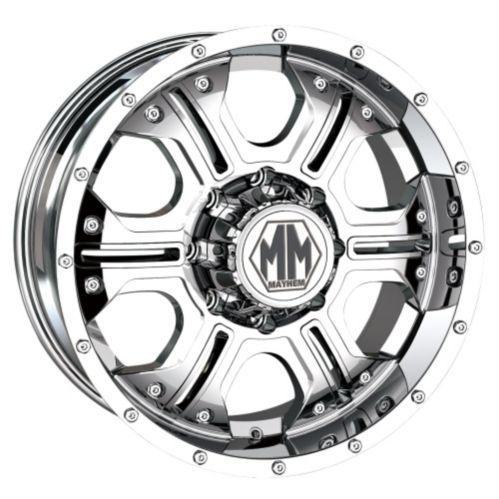 Mayhem Havoc 8020 wheel with Chrome Finish Product image