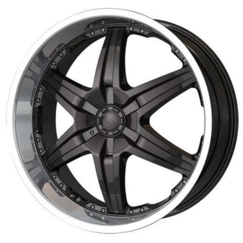 DIP Wicked D39 wheel in Black with Machined Lip Product image