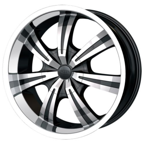 DIP Gunner D88 wheel in Black with Machined Face & Lip Product image