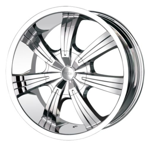 DIP Gunner D88 wheel with Chrome Finish