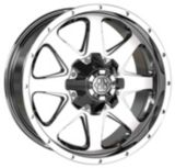 Mayhem Tank 8040 Alloy Wheel, Chrome | Mayhemnull