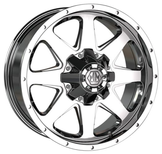 Mayhem Tank 8040 Alloy Wheel, Chrome Product image