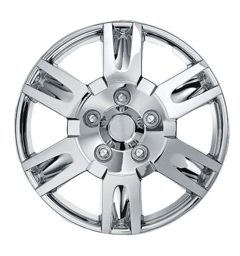AutoTrends Wheel Cover, 999, Chrome, 17-in, 2-pk