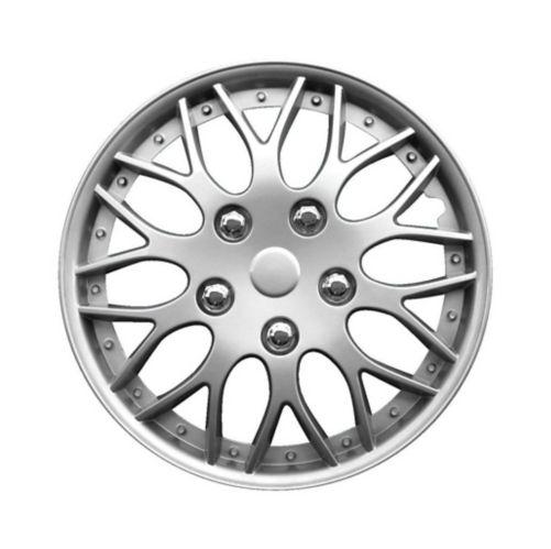 Wheel Cover, 970, Silver, 16-in, 2-pk