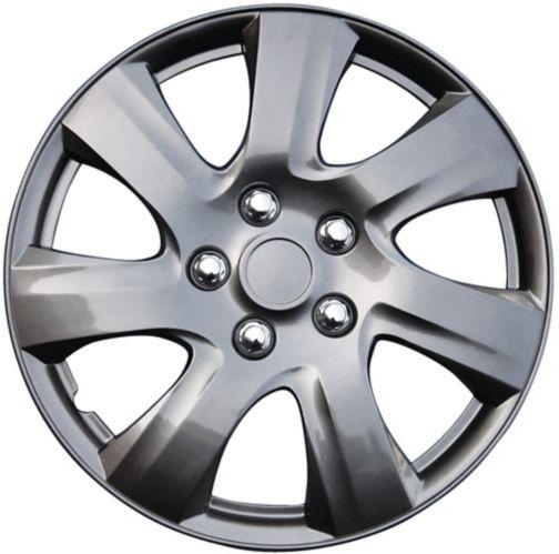 Wheel Cover, 1021, Gun Metal, 17-in, 4-pk