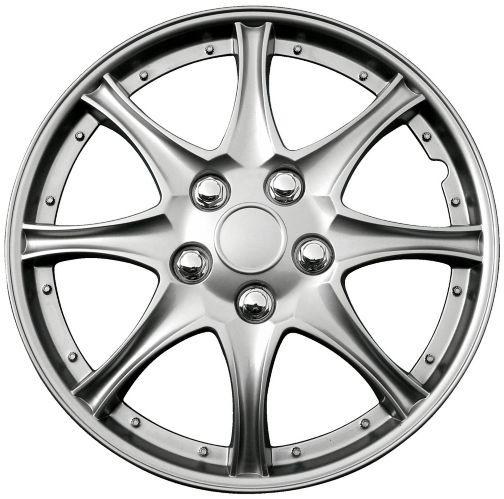Enjoliveur de roue, 976, gris métallisé, 14 po, paq. 4 Image de l'article