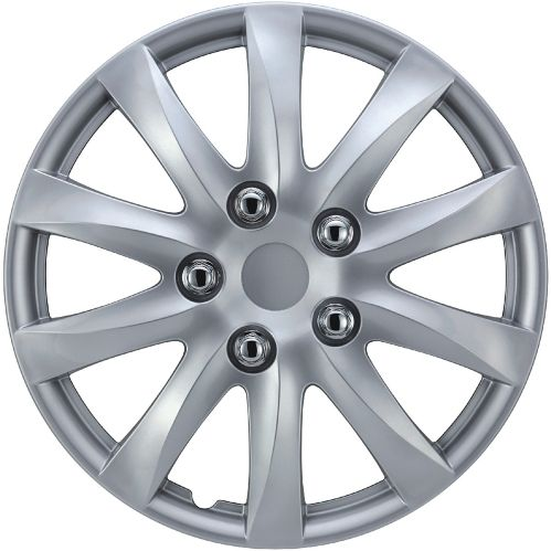 Wheel Cover, 1039, Silver, 15-in, 4-pk Product image