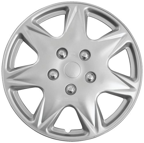 Wheel Cover, 915, Silver, 16-in, 4-pk