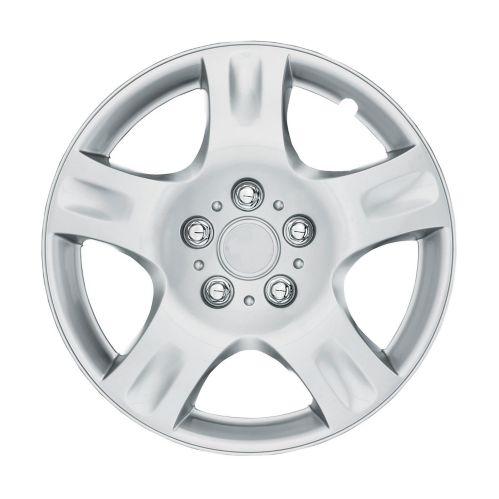 Wheel Cover, 942, Silver/Lacquer, 15-in, 4-pk