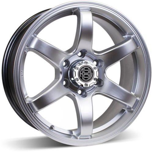 RSSW Torque Alloy Wheel Hyper Silver
