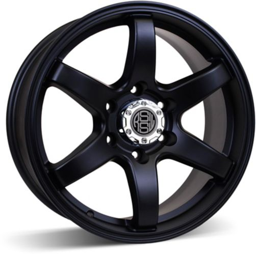 RSSW Torque Alloy Wheel Matte Black