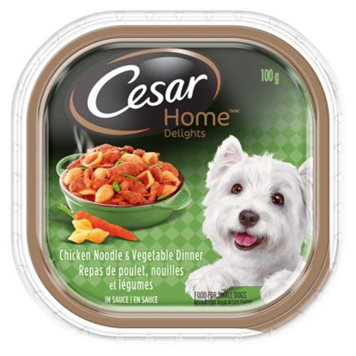 Cesar Home Delights Wet Dog Food, 100-g Product image