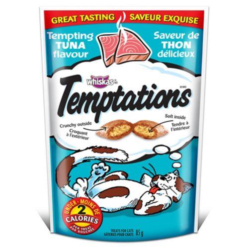 Whiskas Temptations Cat Treats, Tempting Tuna Product image