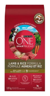 Purina One Smartblend Lamb Rice Formula Dog Food