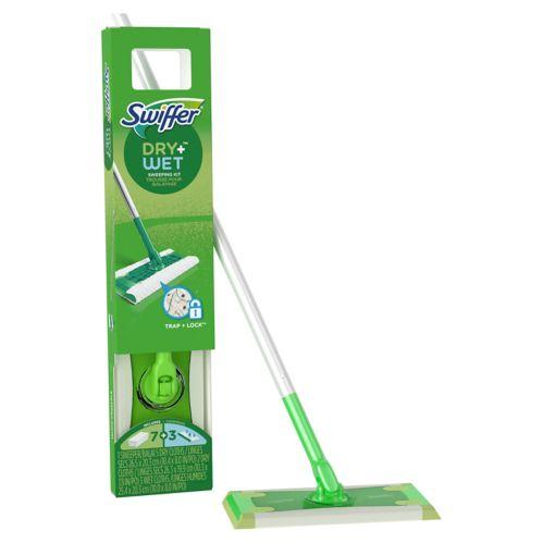 Trousse de départ pour balayage Swiffer Sweeper Dry + Wet Image de l'article