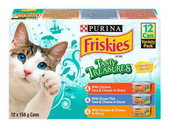 Nourriture humide pour chats Whiskas Friskies Savoureux trésors, paq. 12 Image de l'article